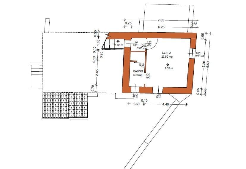 Piano primo - Seconda torre