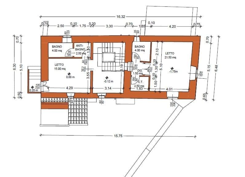 Piano terra - Seconda torre
